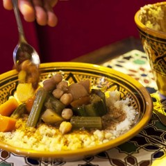 Couscous traditionnel sans viande